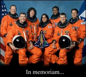 Crew of the Space Shuttle Columbia, STS-107
